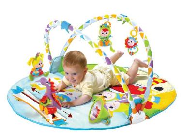 Pourquoi utiliser un tapis d'éveil pour son bébé ?
